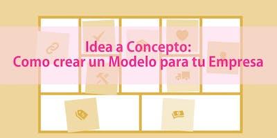 Idea a Concept: Como Crear un Modelo para tu Empresa Pt 2