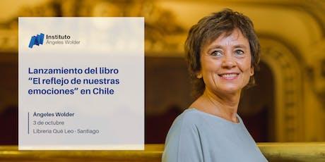 """Lanzamiento del libro """"El reflejo de nuestras emociones"""" en Santiago, Chile entradas"""