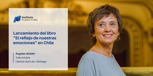 """Lanzamiento del libro """"El reflejo de nuestras emociones"""" en Santiago, Chile"""
