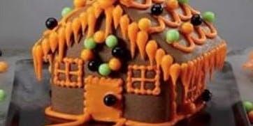 Hallo-wine Haunted Cookie House Class