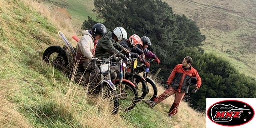 Motorcycle Trial Group Training - Kaituna Valley