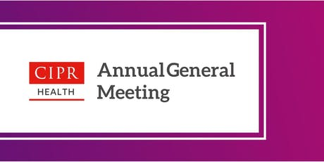 CIPR Health AGM at the Welsh Public Health Conference 2019 tickets