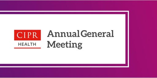 CIPR Health AGM at the Welsh Public Health Conference 2019