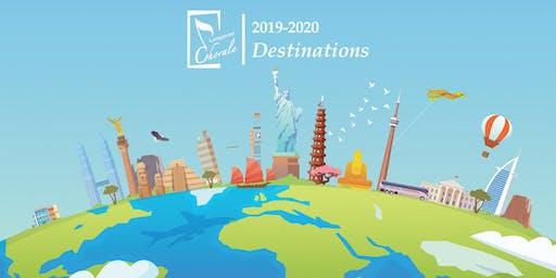 "Longmont Chorale 2019-2020: ""Destinations"" - Season Tickets"