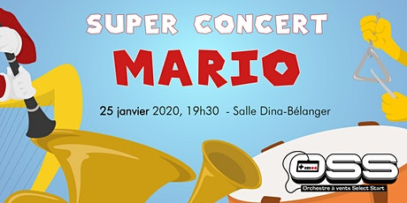 Super Concert Mario - Orchestre Select Start billets