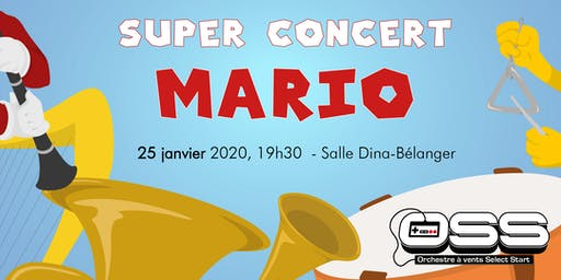 Super Concert Mario - Orchestre Select Start