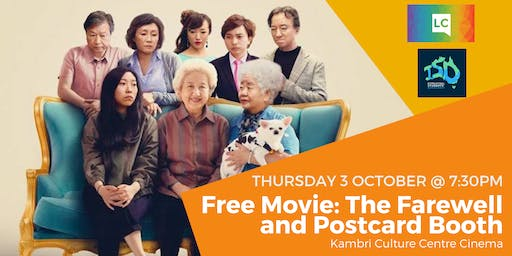 Free Movie: The Farewell and Postcard Booth