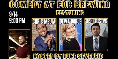 Stand Up Comedy Night at FOB Brewing