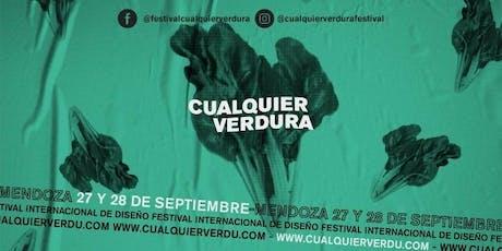 """Festival Internacional de Diseño """" Cualquier Verdu entradas"""