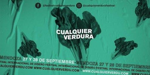 """Festival Internacional de Diseño """" Cualquier Verdu"""