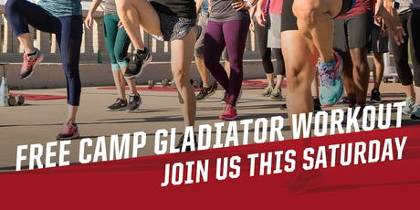 Camp Gladiator Abilene Workout tickets