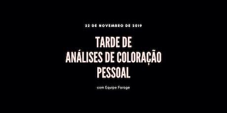 Tarde de Análise de Cor em São Paulo - 22 de novembro ingressos