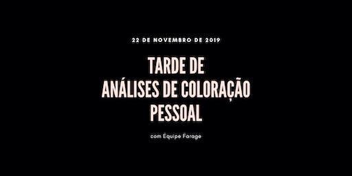 Tarde de Análise de Cor em São Paulo - 22 de novembro