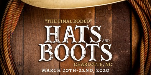 Hats & Boots 2020 Reserved Table