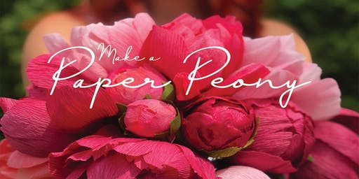 Make a Paper Peony | Neverending Summer Event