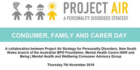 Consumer, Family and Carer Day - Pre Conference Nov 2019 tickets