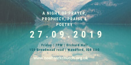 Prayer, Prophecy, Praise, Poetry & Pizza tickets