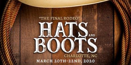 Hats & Boots 2020  Vendor Table tickets