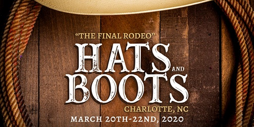 Hats & Boots 2020 Saturday Main Event