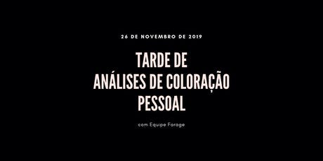 Tarde de Análise de Cor em São Paulo - 26 de novembro ingressos