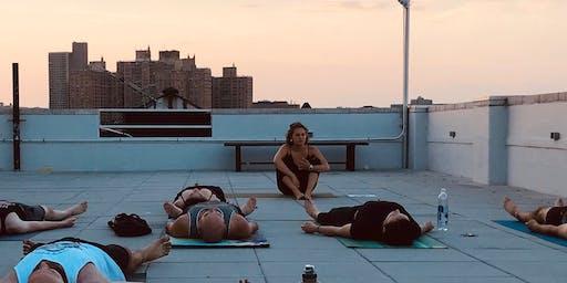 Yoga Savvy: Sunny Rooftop Yoga