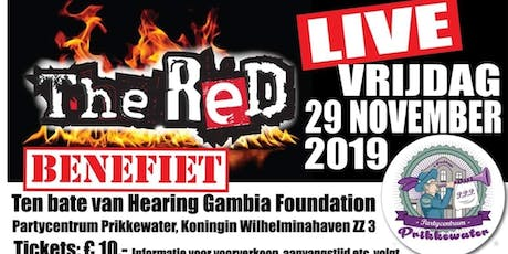 Benefiet concert met The Red tickets