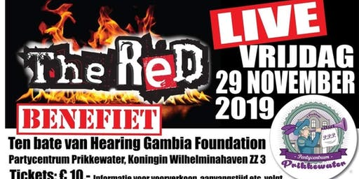 Benefiet concert met The Red