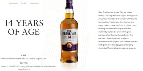 Glenlivet 14 Year Old Scotch Launch tickets