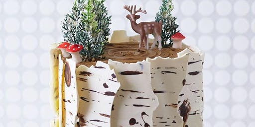 Birch Tree Bark Cake