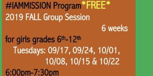 #IAMMission Program Girls 6th-12th grade