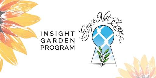 #SagesNotCages | Insight Garden Program Fundraiser