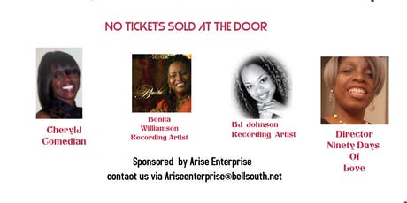 Comedy & Dinner Featuring A Song &  A  Purpose tickets