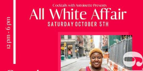 2nd Annual All White Affair tickets