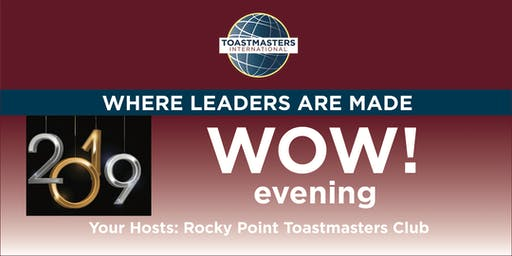 WOW! Evening with Rocky Point Toastmasters Club