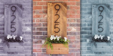We've Got Your Number - DIY House Numbers tickets