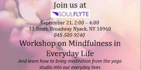 Mindfulness in Everyday Life tickets
