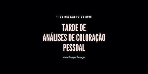 Tarde de Análise de Cor em São Paulo - 11 de dezembro