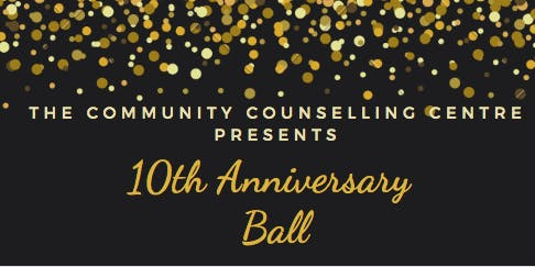 The Community Counselling Centre's 10th Anniversary Ball