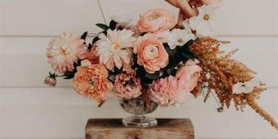 Vase arrangement - Grow & Design Workshop