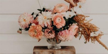 Vase arrangement - Grow & Design Workshop tickets