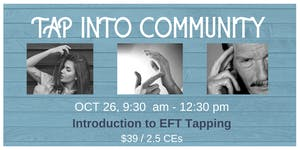 INTRO TO EFT TAPPING - 2.5 CEs