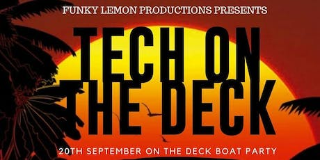 Tech on the Deck tickets