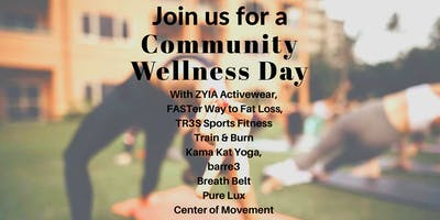 Community Wellness Day at Arneson Acres Park