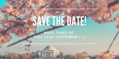 NHSA Washington DC Convention 2019 || Nov 1-3 || tickets