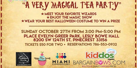 A Very Magical Tea Party tickets