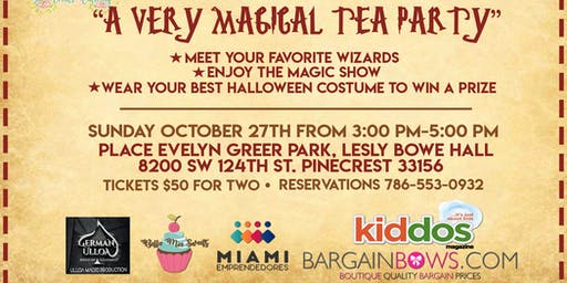 A Very Magical Tea Party
