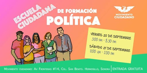 Escuela Ciudadana de Formación Política - Grupo #02