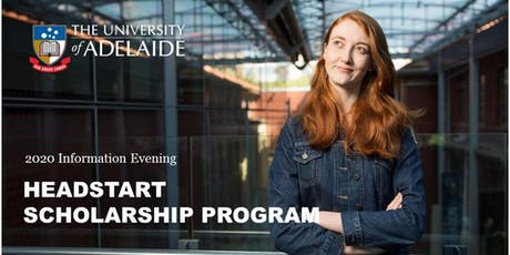 Headstart Scholarship Program Information Night tickets