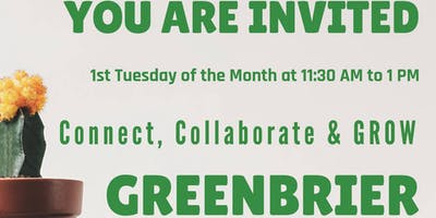 Connect, Collaborate & GROW - Greenbrier
