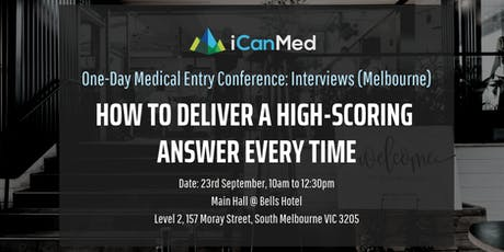 One-Day Medical Entry Conference: Free Interview Workshop (MELB) tickets